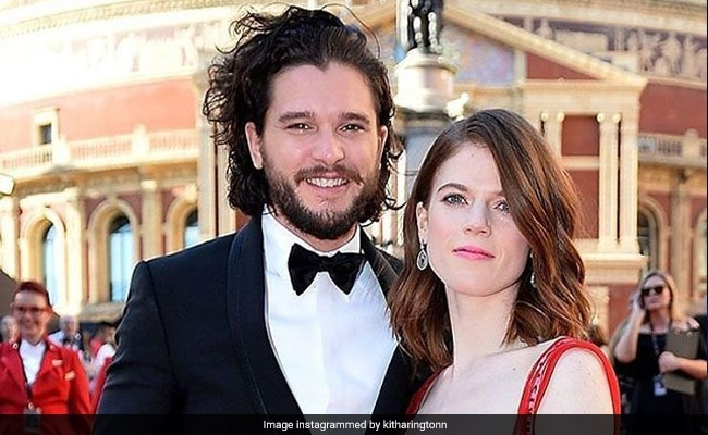 'Game of Thrones' stars Kit Harington and Rose Leslie just got married
