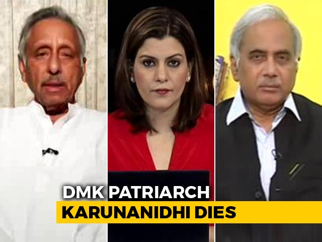 Video : After M Karunanidhi's Death, Politics Over His Memorial