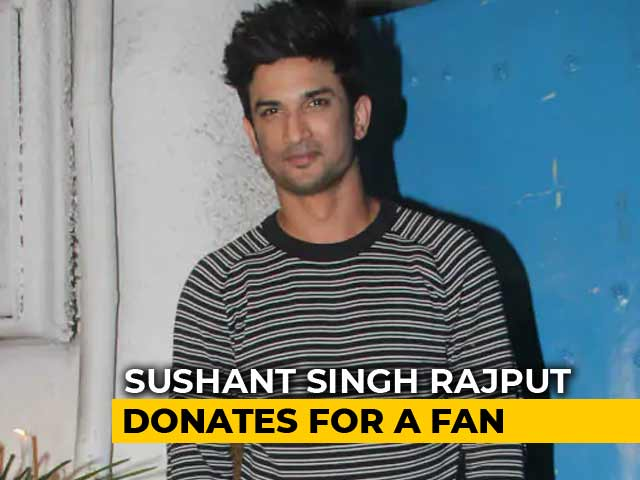Kerala Floods: Sushant Singh Rajput Donates Rs. 1 Crore On Behalf Of A Fan