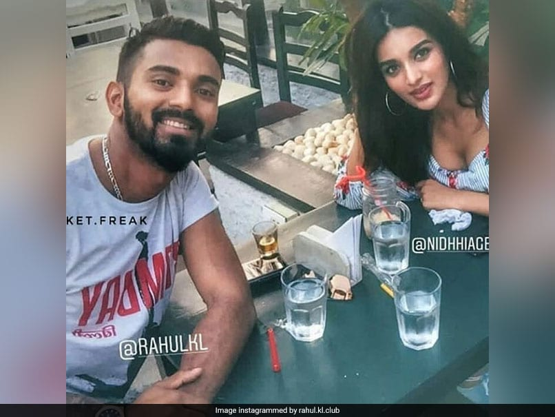 KL Rahul Clears The Air On His Relationship With Bollywood Actress Nidhhi Agerwal