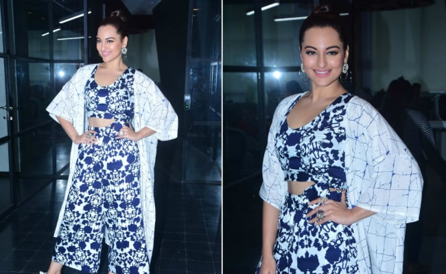 Sonakshi Sinha Is Having A Happy Time With Co-Ord Sets