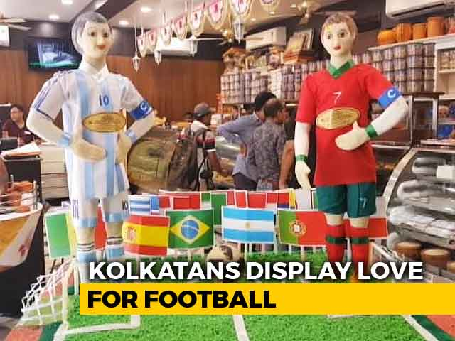 Video : As Football Fever Takes Over The World, Kolkata Gets Its Own World Cup