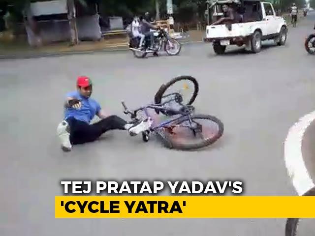 Video : Tej Pratap Yadav, Ex-Minister, Budding Film Star, May Hate This Video