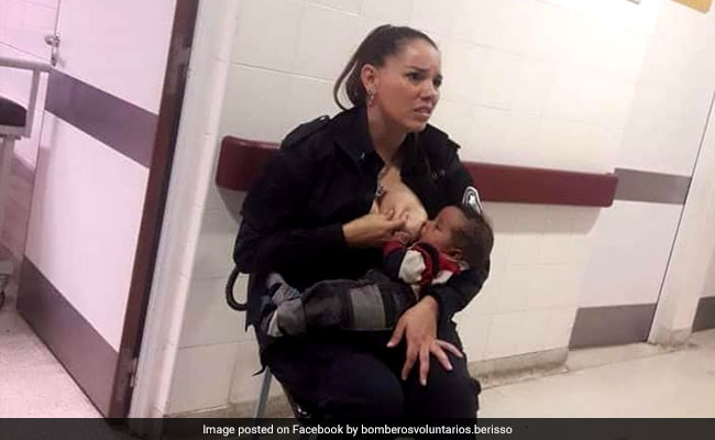 Argentinian Police Officer Who Breastfed Someone's Hungry Baby Promoted