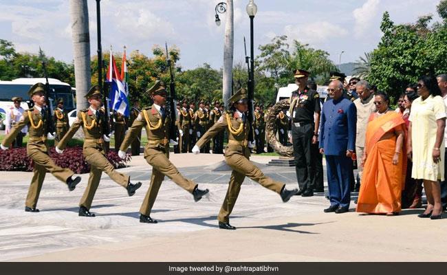 President Kovind Pays Tribute To Cuban Revolutionary Leader Fidel Castro