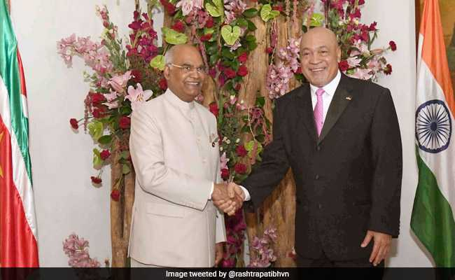 Ram Nath Kovind to Mark International Yoga Day With Suriname President