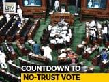 Video : Confident Centre Faces No-Confidence Motion, Big Debate Today