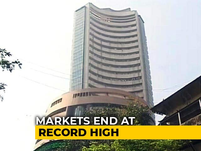 Video : Sensex, Nifty Close At Record Highs As Markets Extend Gains To Third Day