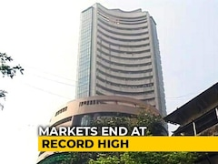 Video: Sensex, Nifty Close At Record Highs As Markets Extend Gains To Third Day