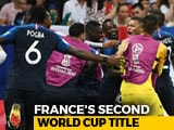 Video : France Beat Croatia 4-2 To Lift World Cup 2018