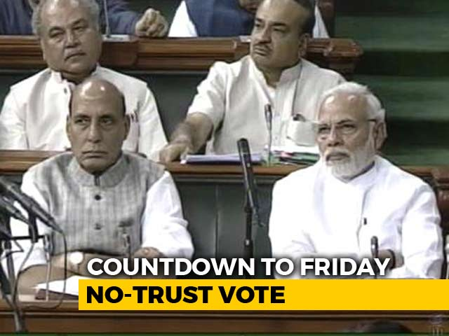 Video : AIADMK, Naveen Patnaik's BJD Likely To Help PM Modi In No-Trust Vote