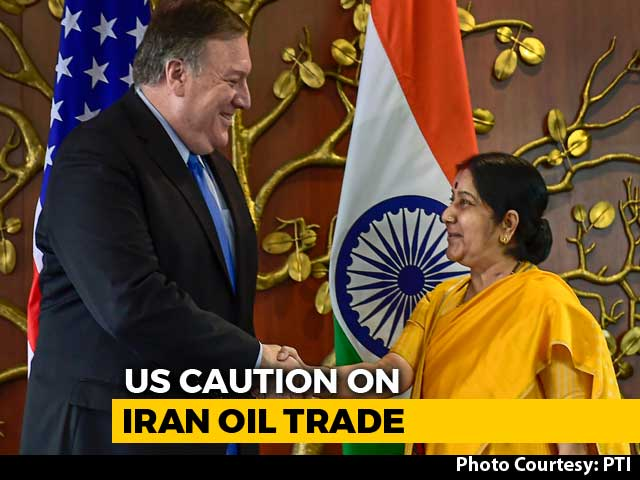 Video : Expect India To Cut Oil Imports From Iran To Zero By November, Says US