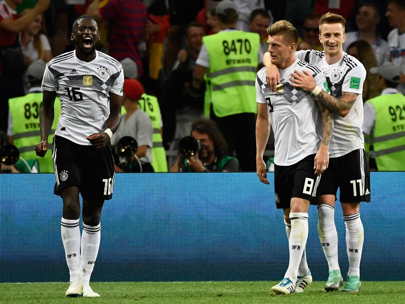 World Cup 2018: Toni Kroos Strikes At Death As Holders Germany Come Back From Brink