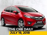 Honda Jazz Facelift Launched, Suzuki Burgman Street Launched, Lexus ES 300h Launched