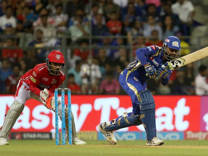 IPL Live Score, MI vs KXIP: Pollard, Krunal Power MI To 186/8 vs KXIP