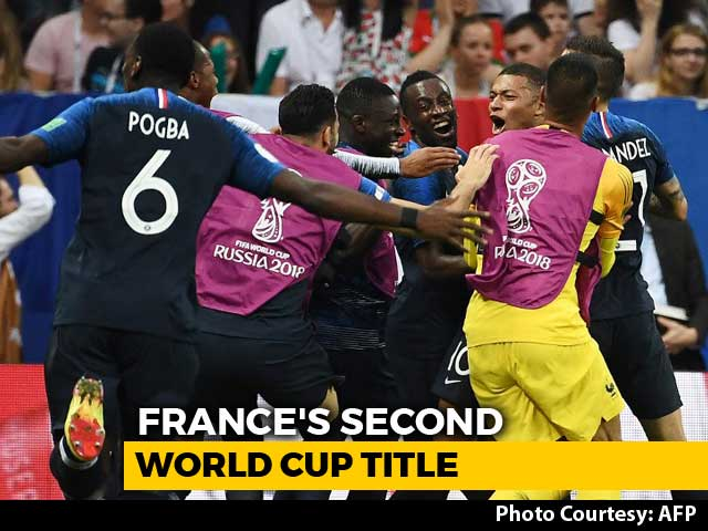 France Beat Croatia 4-2 To Lift World Cup 2018