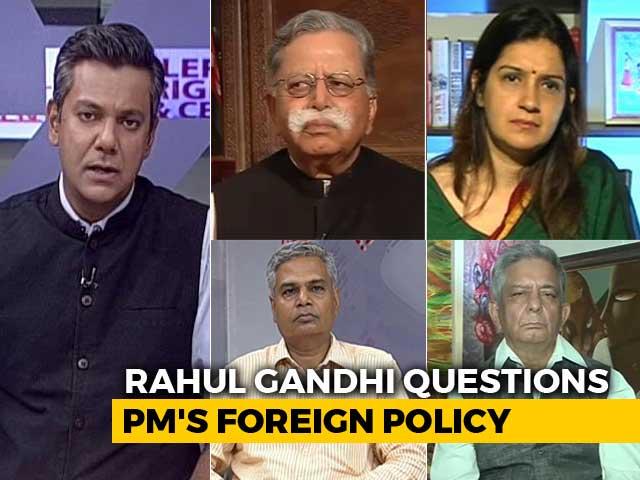Video : Chinese Still In Doklam, Rahul Gandhi Says, Targeting PM Modi In London