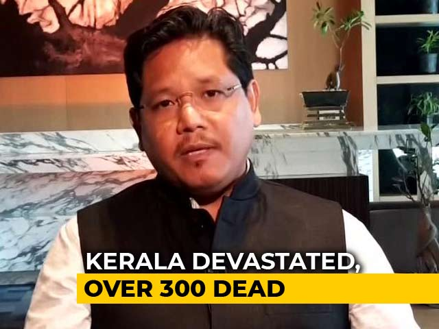 Video: Conrad Sangma Says Every Citizen Should Lend Kerala A Helping Hand