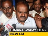 Video : Kumaraswamy's Meet With Gandhis Amid Tussle Over Number 2 post
