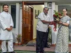 Gandhis Talk Of Wider Plan At Meeting With Kumaraswamy: 10 Points