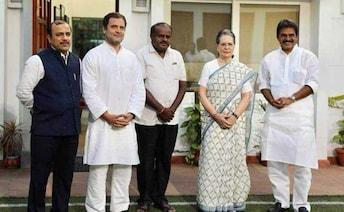 'Let The Past Be History,' Congress Said To HD Kumaraswamy At Meet