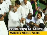 Video : Kumaraswamy Wins Trust Vote After BJP Walks Out Of Karnataka Assembly