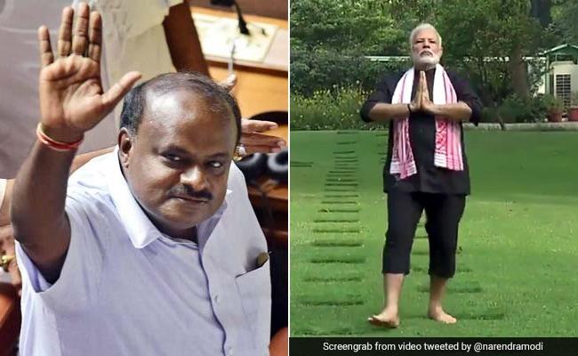 PM मोदी के फ़िटनेस चैलेंज पर कुमारस्वामी बोले, मुझे राज्य के विकास के फ़िटनेस की ज़्यादा चिंता