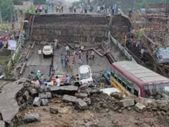 1 Dead In South Kolkata Bridge Collapse, 19 Injured