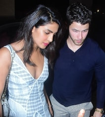 Pics: Priyanka-Nick Catch Dinner In Mumbai; Reported Roka Today