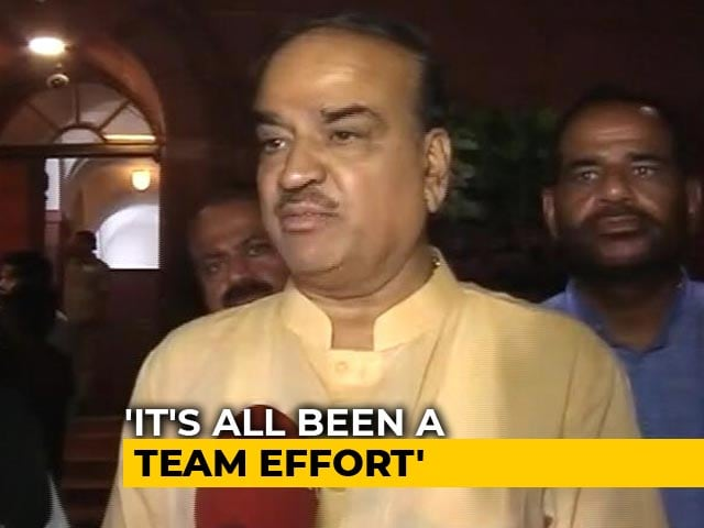 """Video : """"Shiv Sena Is With Us"""": Ananth Kumar To NDTV After No-Trust Vote"""