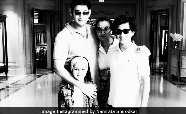 Mahesh Babu Celebrates Birthday With Family In Goa