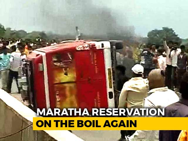 Video : Protests In Maharashtra For Maratha Quota Escalate Over Suicide
