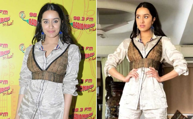 Bet You've Never Worn Your Crop Top Like Shraddha Kapoor