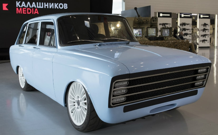 Kalashnikov debuts electric 'super car' to compete with Tesla