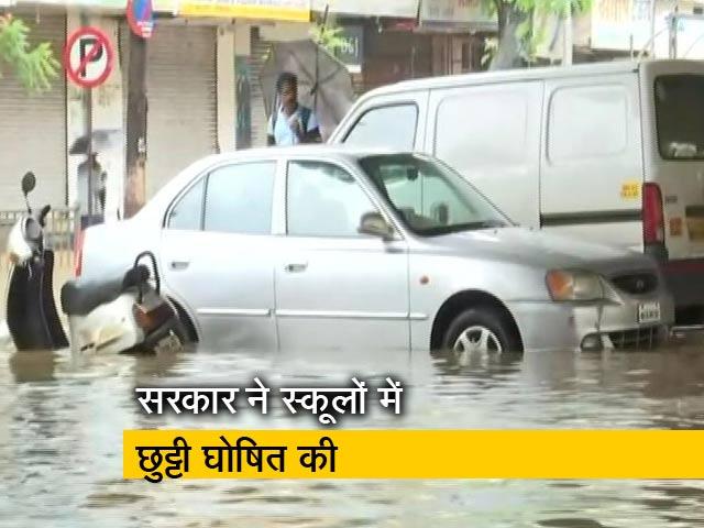 Video : बड़ी खबर: बारिश ने रोकी मुंबई की रफ्तार