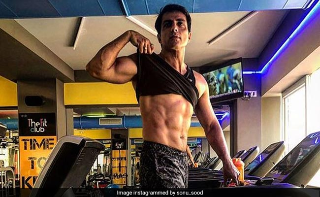 Fitness Lover Sonu Sood