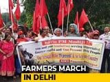 Video : With Demands Of Loan Waiver, Minimum Wage, Farmers Hit The Road In Delhi