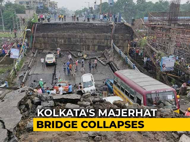 "Video : ""We Heard A Loud Bang, A Portion Of Majerhat Bridge Caved In"": Eyewitness"