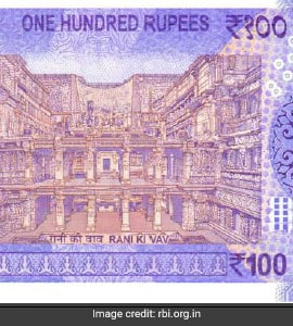 New 100 Ru Note Inr 10 200 500 2000 India Currency