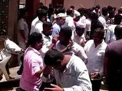 Chemical Sprayed At Karnataka Congress Victory Celebration, 10 Injured