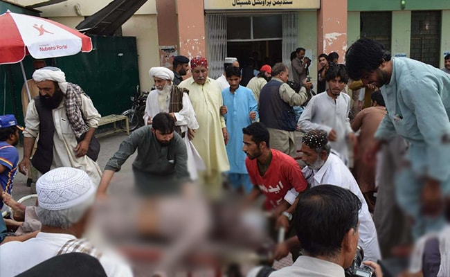 70 Killed In Blast At Election Rally In Pakistan's Quetta
