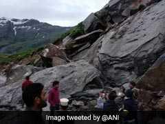 Landslide Blocks Manali-Leh Highway