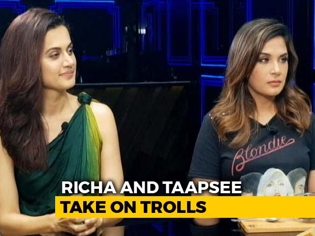 Video : Richa Chadha & Taapsee Pannu: Fearless And Uncensored