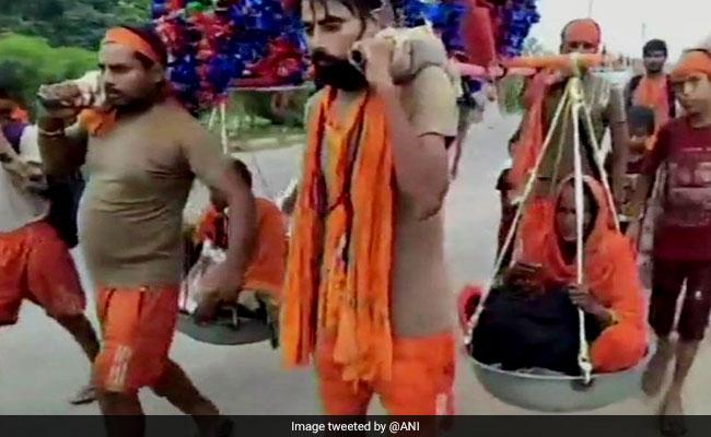 Haryana Brothers Carry Parents On Kanwar, Like Shravan Kumar Of Legend
