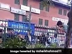 """On Video, Police Officer In Srinagar Slaps Man, Calls Him """"Idiot"""""""