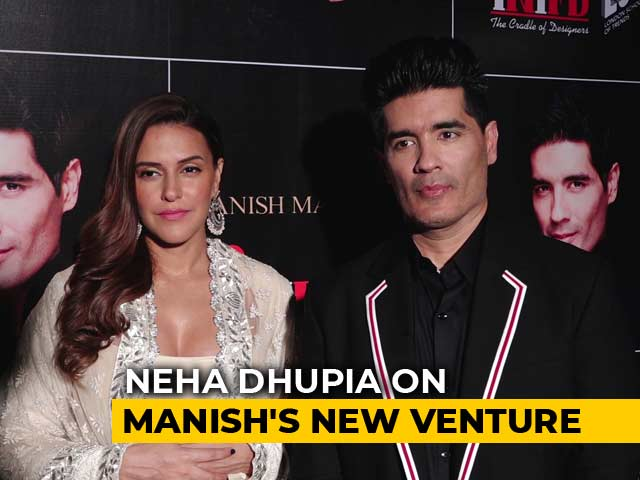 Neha Dhupia Talks About Manish Malhotra's New Venture