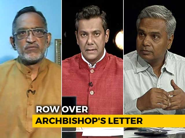 """Video : """"Turbulent Atmosphere"""": Delhi Archbishop's Letter Stirs A Controversy"""