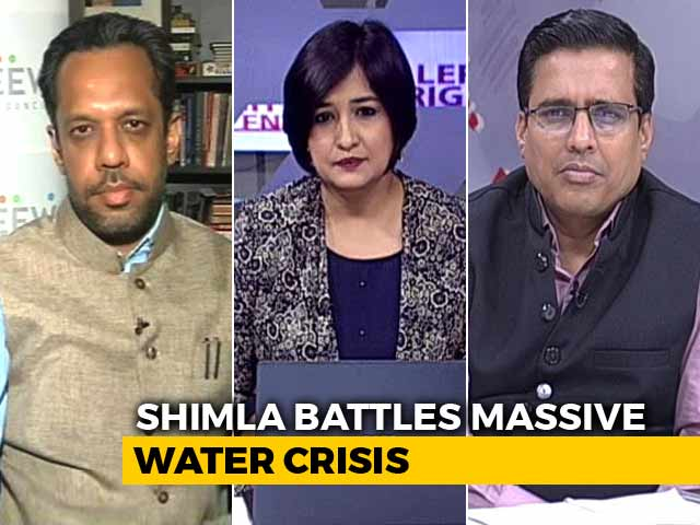 Video : Shimla Faces Water Crisis, Is Your City Next?
