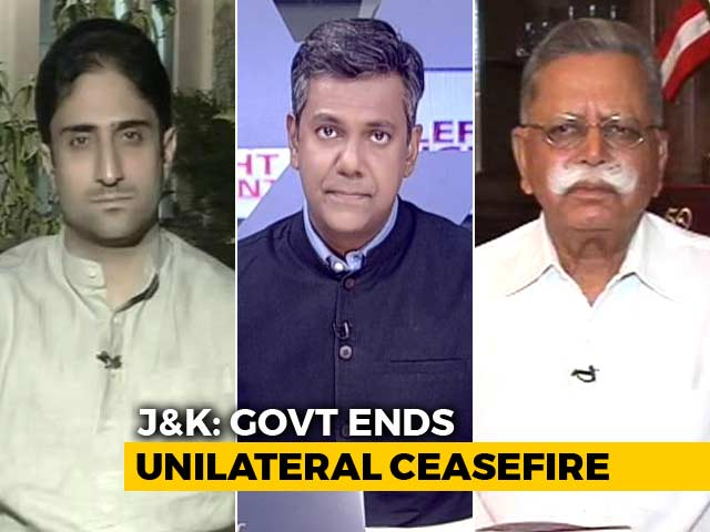 """Video : Jammu And Kashmir """"Ceasefire"""" Ends: Now What?"""