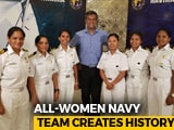 Video: Meet The Navy's All-Women Crew Who Sailed Around The Globe In A Tiny Boat